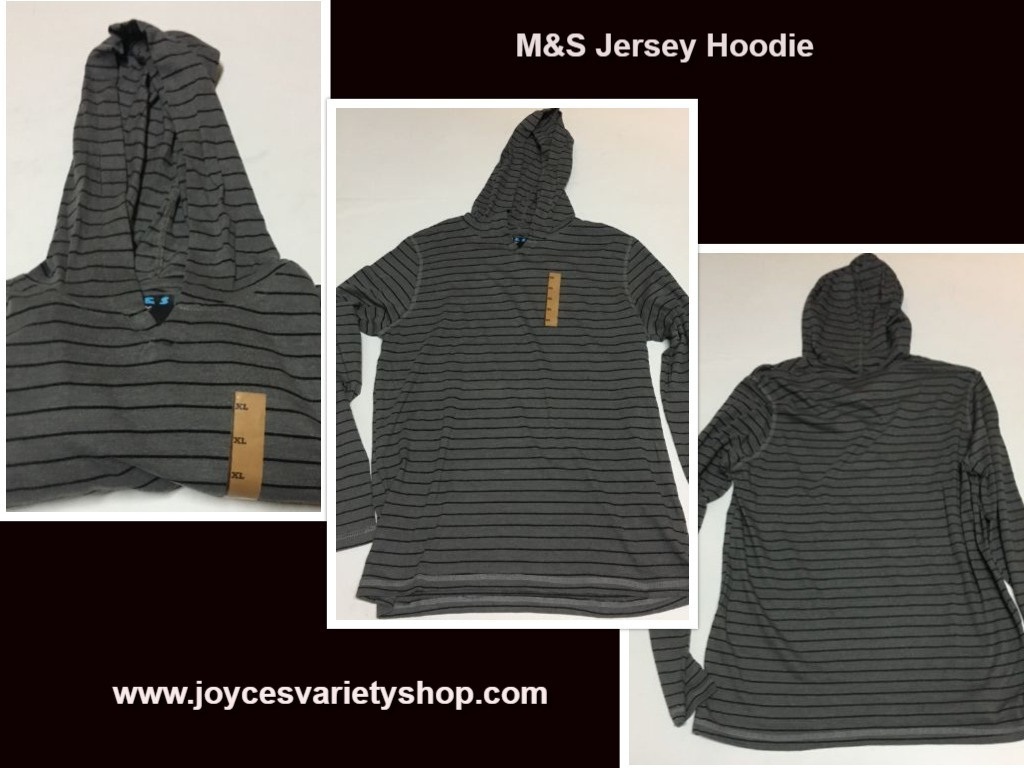 M s striped jersey hoodie web xl collage