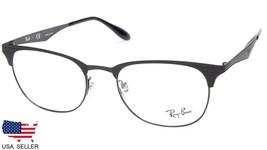 NEW Ray Ban RB6346 2904 MATTE BLACK On BLACK EYEGLASSES FRAME 52-19-145 ... - $113.83
