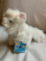 Webkinz White Persian Cat Plush HM110 Ganz Used Doll Toy Nice Clean Cond... - $23.38