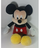 Mickey Mouse Plush 16in Disney Stuffed Animal Classic Red Pants Yellow S... - $14.99
