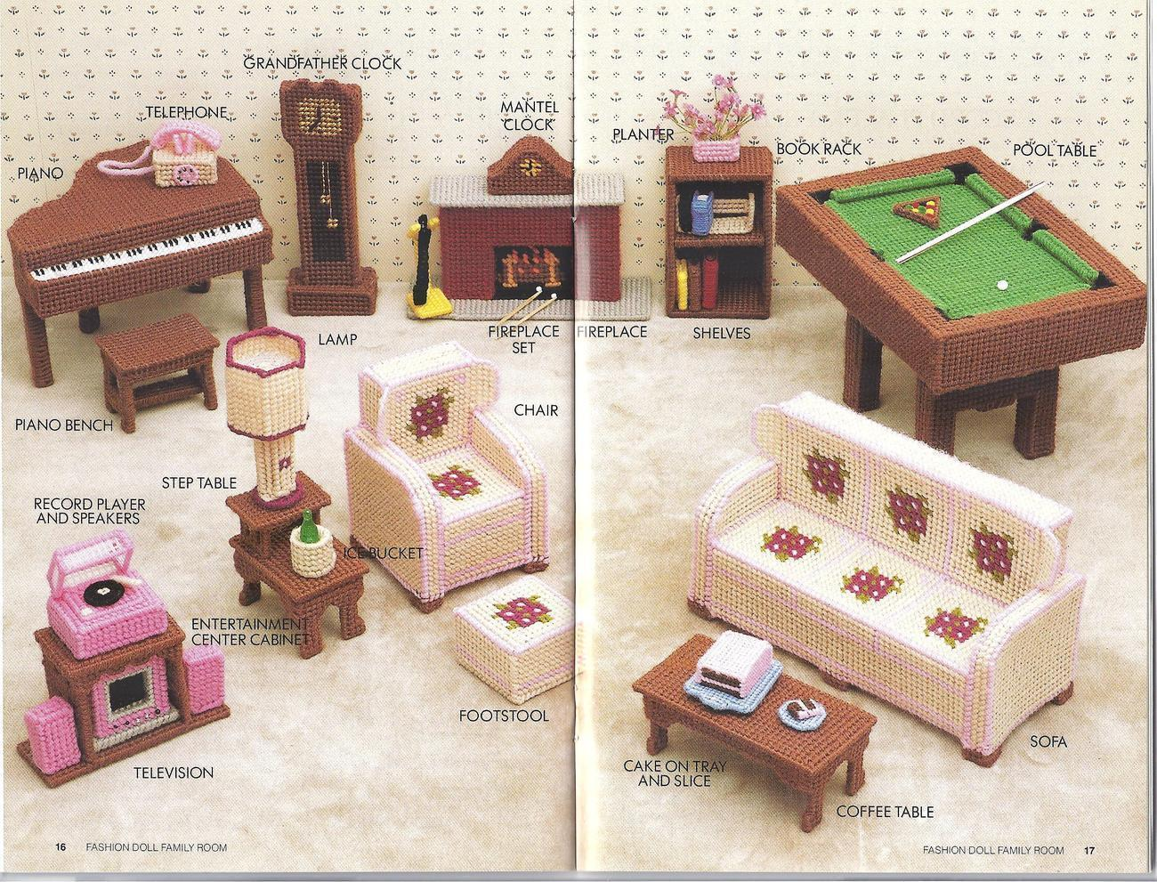 It's just a photo of Playful Free Barbie Furniture Patterns