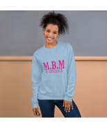 M.B.M'S (Brand) Unisex Sweatshirt (Pink) - $28.99