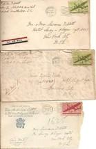3 WWII Envelopes addressed To Metropolitan Opera Singer Lawrence Tibbett... - $4.50