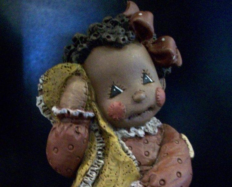 All God's Children - Ragbabies, Sweetie - Item #4002, New in Box w/COA
