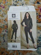 Vogue Sewing Pattern V1517 American Designer Anne Klein Jacket Pants 14-... - $7.97