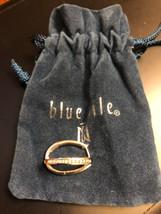 blue nile 10k white gold diamond hoop earrings  4.3g - £276.26 GBP