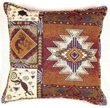 "17"" KOKOPELLI Southwest Tapestry Cushion Pillow  - $25.00"