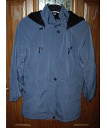 LIZ CLAIBORNE Womens Hooded Spring Coat-Teal Blue S/P Small Lined BRAND NEW - $28.70