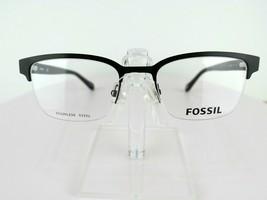 Fossil FOS 7005 (807) Satin Black 52 X 20 150 mm Eyeglass Frames - $47.96