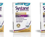 SYSTANE COMPLETE Lubricant Eye Drops: Two 10mL bottles per box - (3 pack) - $33.96