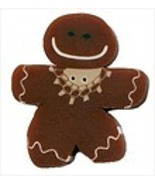 Tiny Ginger Gingerbread Girl 4458t handmade but... - $1.80