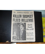 Daily News December 26 1977 Charlie Chaplin Die... - $34.99