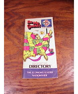 Old Motel 6 Directory, Effective May 1, 1981 - $7.95
