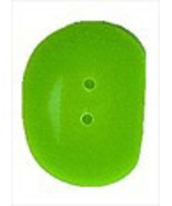 Small Green Jellybean 4464cs handmade clay butt... - $1.40