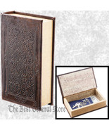 Small Brown Faux Book Safe with Magnetic Closure Craft Box Hidden Compar... - $12.99