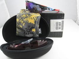 Oakley Radarlock Path Tourdefrance Ventilato Polis Nero W /+ Rosso Iridi... - $304.32
