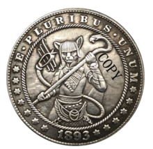 Hobo Nickel 1893- S USA Morgan Dollar Egyptian Goddess COPPY COIN For Gift - $5.99