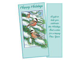 A Gift To Help You Celebrate ~ Christmas Holiday Gift Card or Money Holder - $5.00+