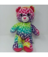 Build A Bear Lisa Frank Leopard Rainbow Plush Stuffed Animal Cat Cheetah... - $17.56