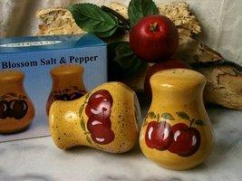 Porcelain Apple Salt & Pepper Shakers - $21.50