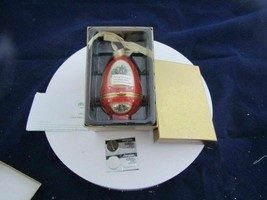 Mr. Christmas Ceramic Musical ORNAMENT-JOY To The WORLD-BRAND New In Box!! - $22.95