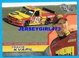 Travis Kvapil 2002 Press Pass Trackside Truck Series NASCAR Racing Card #48  - $1.00