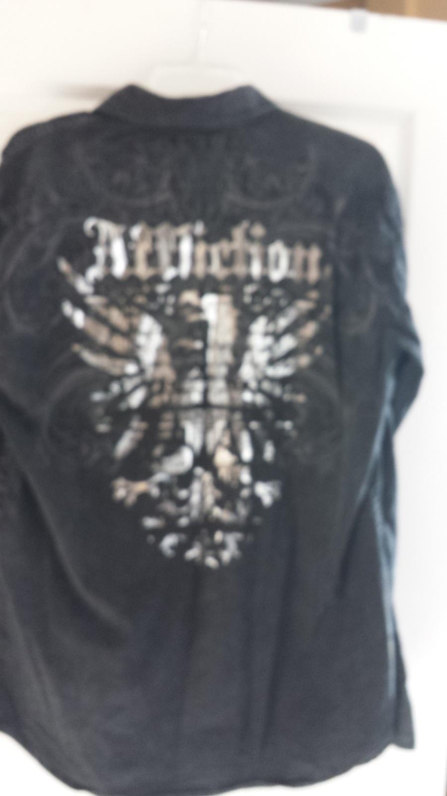 "Affliction ""Falcon Grasp"" Black Shirt"