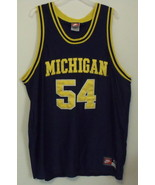 Mens Nike Michigan Blue and Gold Jersey Size 52 - $9.95