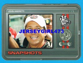 John Andretti 2006 Press Pass Snapshots NASCAR Racing Insert Card #SN 1/36  - $1.00