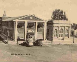 Branchville New Jersey Vintage 1930s Post Card image 2