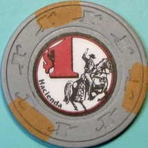 $1 Casino Chip, Hacienda, Las Vegas, NV. S92. - $5.50