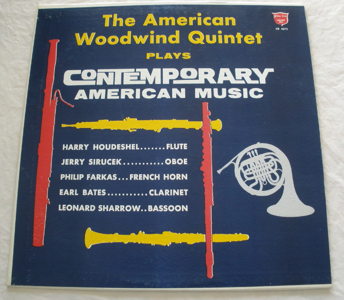 American Woodwind Quintet -  Plays Contemporary American Music - LP