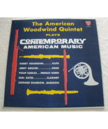 American Woodwind Quintet -  Plays Contemporary American Music - LP - $8.50