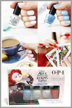 OPI New Nail Polish Lacquer Alice Through The Looking Glass Mini Collect... - $9.89