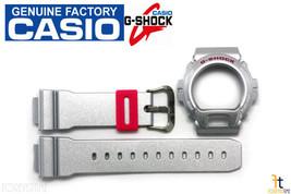 CASIO G-Shock DW-6900CB-8W Original Grey Metallic (Glossy) BAND & BEZEL Combo - $68.95