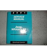 2001 jeep wrangler service workshop repair shop manual new - $168.62