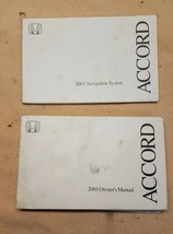 2003 Honda Accord Owner's Owner Manual with Navigation Document No Case - $14.55