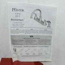 pfister Bremerton F0364SVC 36 Series 2 Handle Polish Chrome Kitchen Faucet image 7