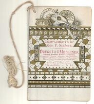 1885 Sanborn Meredith village NH booklet advertising ephemera  - $32.50