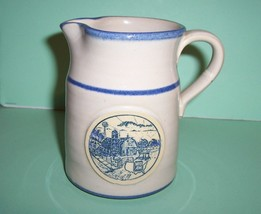 "Deneen Pottery 1988 Special Edition Pitcher ""Sunrise Farm Sc - $19.99"