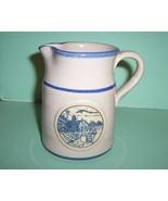 "Deneen Pottery 1988 Special Edition Pitcher ""Sunrise Farm Sc - $19.99"