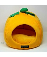 Nandog Pet Gear Pumpkin Dog Cat Bed House Plush Soft Cushioned Orange Green - $28.49