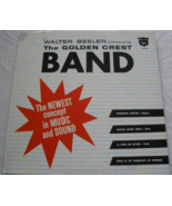 Walter Beeler Conducts the Golden Crest Band - LP  - $9.50