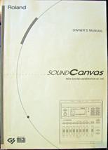 Roland SC-155 Sound Canvas Midi Sound Generator Module Original Owners M... - $24.74