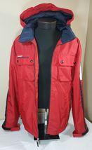 VTG Tommy Hilfiger Jacket Flag Windbreaker Colorblock 90's Spell Out XL Coat image 8