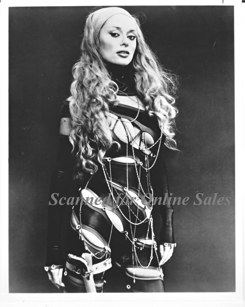 Cybil Sybil Danning in Leather 8x10 Photo