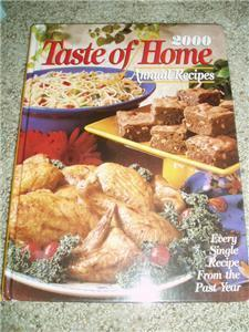 Primary image for Taste of Home Annual Recipes 2000