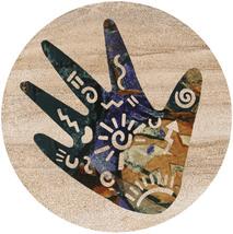 Story Hand Sandstone Coasters - $20.00