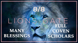 LION'S GATE PORTAL 8/8/21 MOST EXTREME LUCK BLESSINGS 2021 RARE MAGICK Cassia4 - $147.77