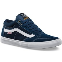 Vans Tnt Sg Washed Canvas Navy Trujillo Men's Classic Skate Shoes Size Sz 7 - $65.41